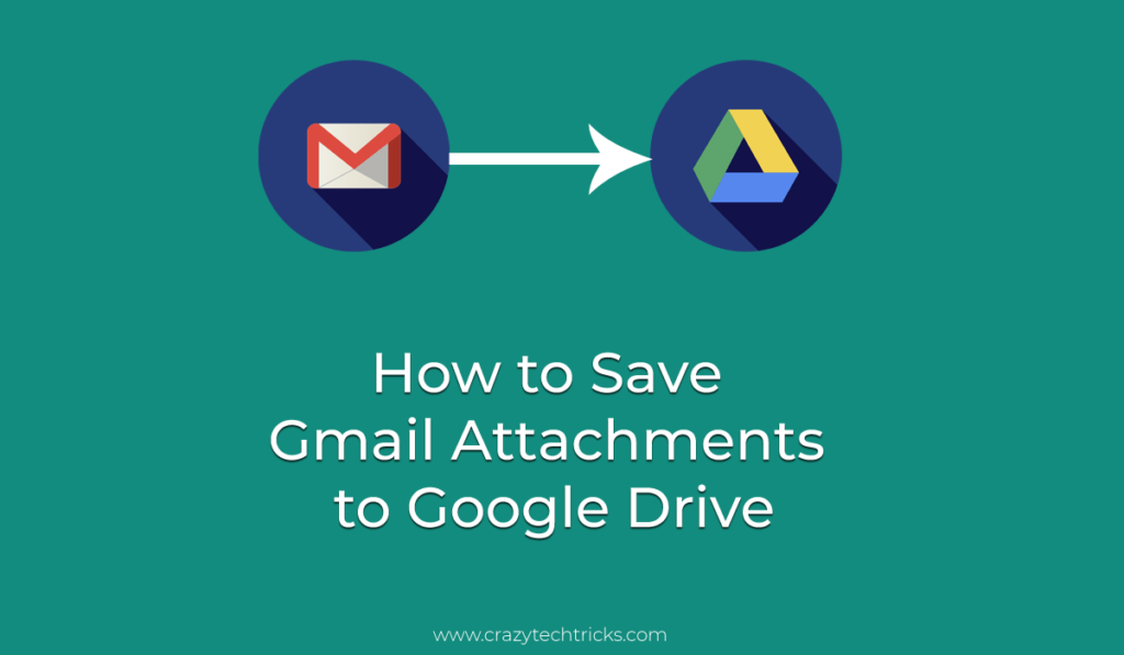 Automatically save Gmail attachments to Google Drive